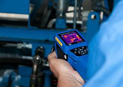 Industrielle zustandsorientierte Instandhaltung mittels einer Wärmebildkamera