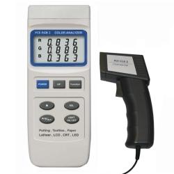 Farbprüfgerät als Handmessgerät mit Sensor an 1n.5 m Kabel
