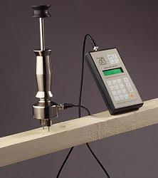 Feuchtigkeitsmessgerät FMD 6 im Einsatz