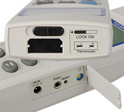 Anemometer PCE-009 Anschlüsse