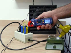 Ampere - Messinstrument im Einsatz am Messplatz
