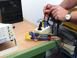 Amperemesser im Einsatz am Messplatz
