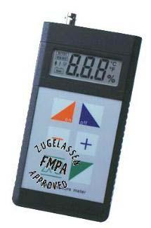 Messgerät FME (das hochgenaue Multitalent zur Ermittlung der absoluten Holzfeuchtigkeit)