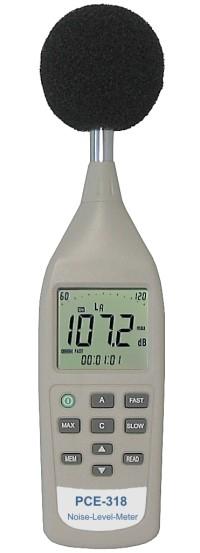 dB Messgerät PCE-318 mit Analogausgang