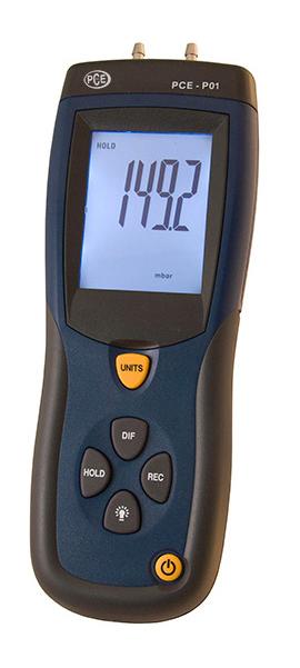 Differenzdruck-Manometer PCE-P01