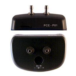 Anschlüsse des Differendruck-Manometers PCE-P01