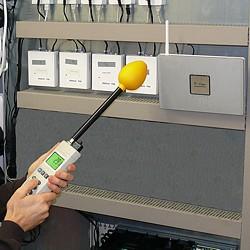 Der Elektromagnetischer Strahlungsmesser wird z.B. zur Erfassung von Wireless LAN eingesetzt