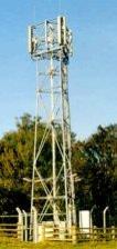 Feldmessgerät zur Erfassung der Strahlung von Radiosendemasten