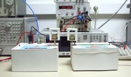 Feldmessgerät zur Beurteilung von Strahlung die von einem Versuchsstand ausgeht