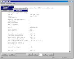Übertragungs- und Auswerte-Software für das Feuchtigkeitsmessgerät FMD