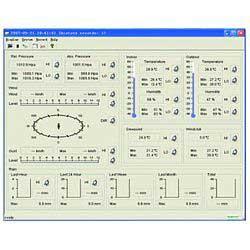 Elemző szoftver a vezeték nélküli meteorológiai állomás
