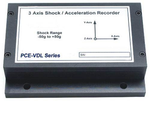 3-Achsen-Schock-Datenlogger PCE-VDL-Serie