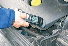 Handinfrarotthermometer MS-Pro in der Kfz-Diagnose