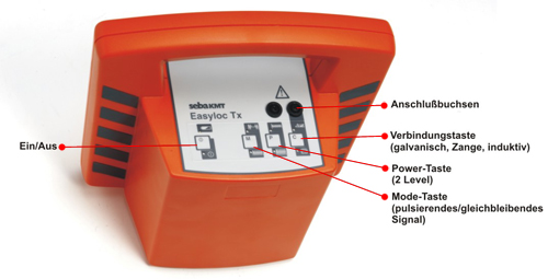 Sender des Kabelortungsgerätes - Easyloc Tx