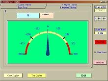 Analoge Darstellung der Software vom Kraftmessgerät