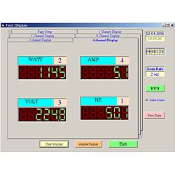 Software zum Leistungsanalysator PCE-PA6000