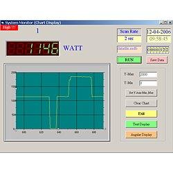 Eine weitere Darstellung der Software zum Leistungsanalysator PCE-PA6000