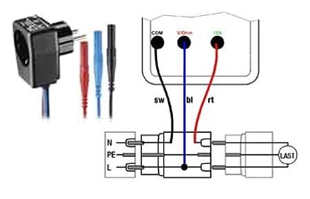 Poweradapter zum Leistungsanalysator PCE-PA6000