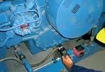 Handpyrometer MS-Plus in der Instandhaltung.
