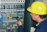 Handpyrometer MS-Plus in der Elektro- Instandhaltung