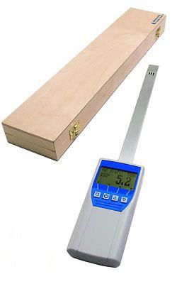 Einstechhygrometer für die Verwendung im Papierlager
