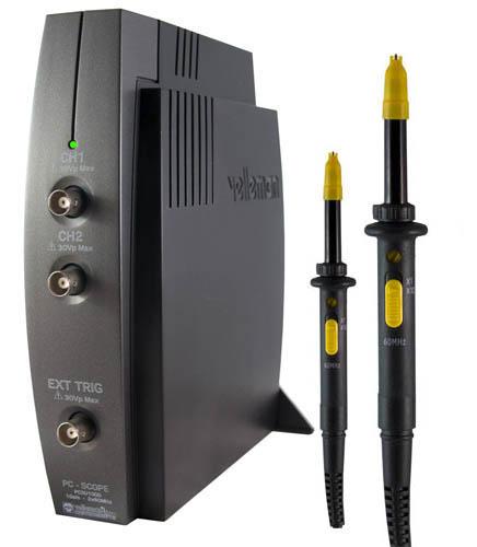 Das PC-Osziloskop PCSU1000