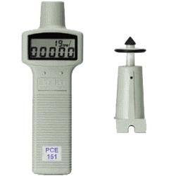 Drehzahlmessgerät PCE-151 mit RS 232 Schnittstelle und Software