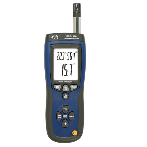 Hier finden Sie weitere Informationen zum Psychrometer PCE-320