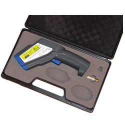 Das Infrarot-Thermometer im Koffer