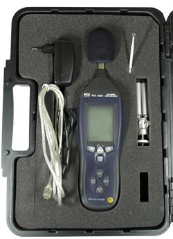 PCE-322 A im Koffer