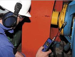 Der Schwingungsanalysator PCE-VT 250 ermöglicht Ihnen den Betriebszustand an Lager  und Maschinen zu diagnostizieren