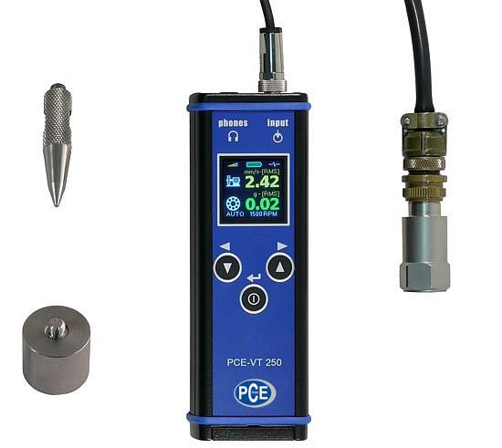 Schwingungsanalysator PCE-VT 250