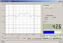 CTconnect Software vom Infrarot - Temperaturmesser PCE-IR10