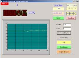 Software zum Luxmessgerät PCE-173 zur erweiterten Analyse