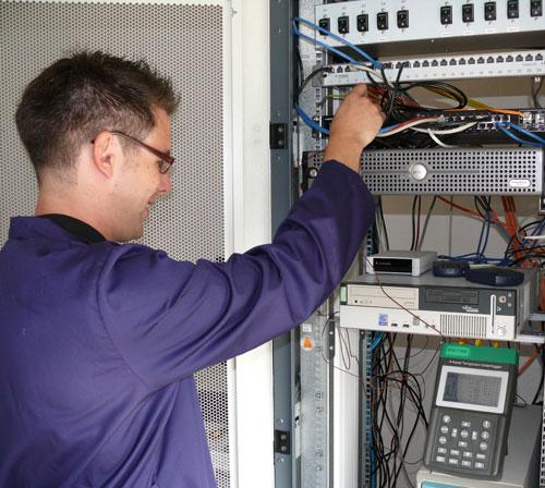 Auch Standardtemperaturmessungen zur schnellen Überprüfung sind mit diesem Temperaturdatenlogger möglich