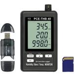 Der Thermo-Hygro-Barometer Datenlogger wird mit 2 GB SD-Karte und Kartenlesegerät ausgeliefert.