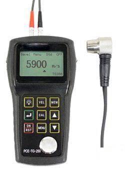 Das Ultraschall Dickenmessgerät PCE-TG 250