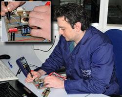 Die Multimeterfunktion am Umweltmessgerät PCE-EM 886