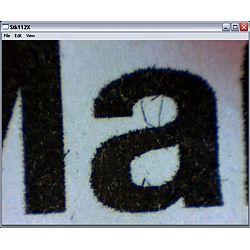 Anwendung des USB - Mikroskop PCE-MM 200 bei der Druckqualitätsprüfung