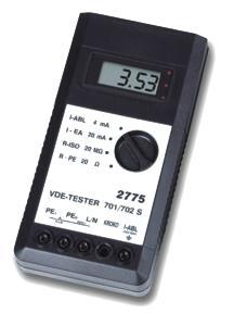 VDE-Tester 2775 nach VDE-Norm 0701/702