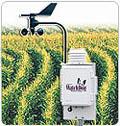 Wetterstation für die Langzeitaufnahme in der Landwirtschaft