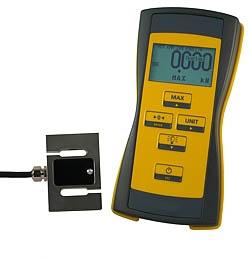 Kraftmessgerät für Zugkraft und Druckkraft bis 50 kN
