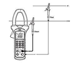 Ein weiteres Beispiel zum Zangen- Leistungsmessgerät PCE-UT232