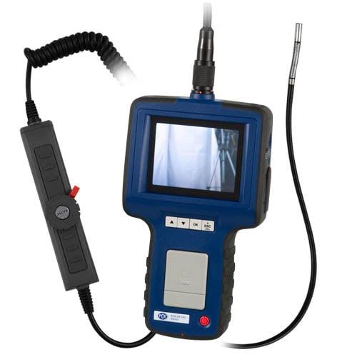 2-Wege Endoskop PCE-VE 350 mit beweglichem Kamerakopf.