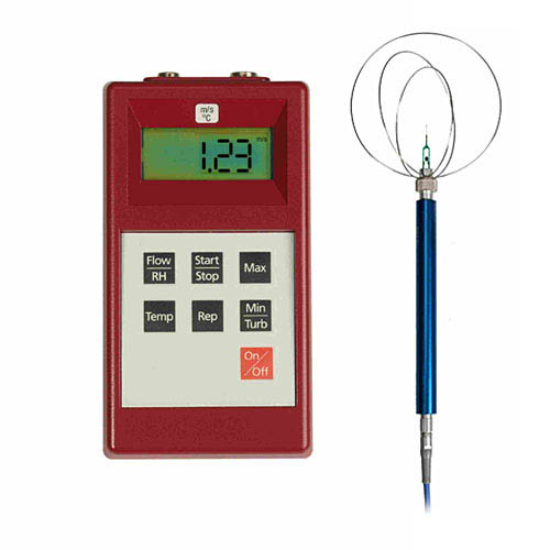 Thermoelektrisches Anemometer ThermoAir3