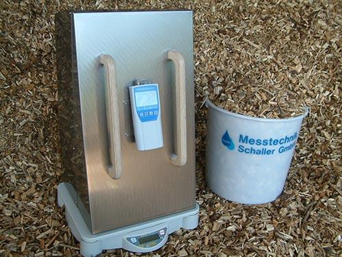 Hier finden Sie weitere Informationen zum Biomasse-Feuchtemessgerät