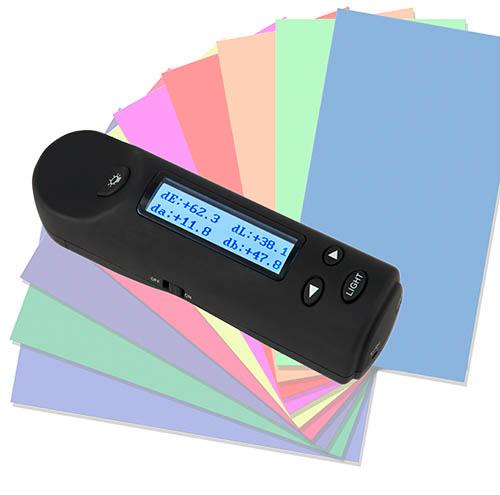 Differenz-Farbmessung mit dem CIELab-Farbmessgerät