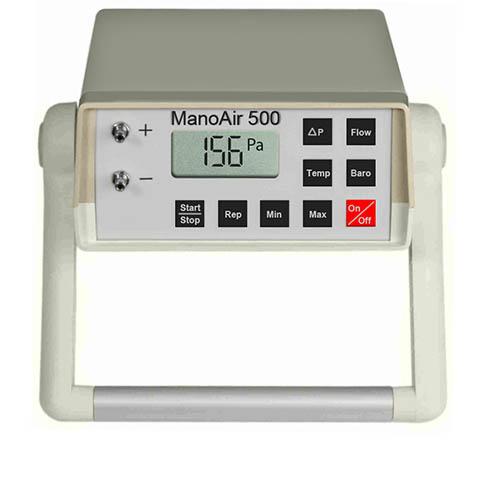 Differenzdruck-Mikromanometer ManoAir500