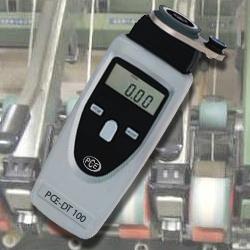 Digital-Drehzahlmesser PCE-DT 100 ist mit einem  mechanische Spezialadapter für Fäden, (Glas-) Fasern und Drähten ausgestattet