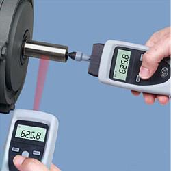 Digital-Drehzahlmesser mit mechanischen Adapters und einer Messspitze
